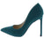 Condition16 Emerald Nubuck Pointed Toe Stiletto Heel