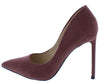 Condition16 Purple Pointed Toe Stiletto Heel