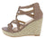 Emery06 Taupe Women's Wedge