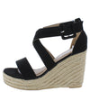 Emery08 Black Women's Wedge - Wholesale Fashion Shoes