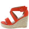 Emery08 Coral Women's Wedge - Wholesale Fashion Shoes