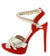 Eveline5 Red Women's Heel