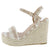 Evgenia1 Nude Women's Wedge