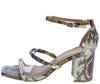 Forever36 Camel Snake Women's Heel - Wholesale Fashion Shoes