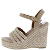 Grass3 Natural Women's Wedge - Wholesale Fashion Shoes