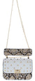 Loren05 Snake White Women's Handbag
