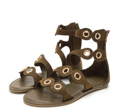 HAPPINESS29M OLIVE WOMEN'S SANDAL - Wholesale Fashion Shoes