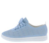 Heather01 Light Blue Women's Flat - Wholesale Fashion Shoes