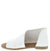 Hippie05m White Side Cut Wrap Open Toe Flat Sandal