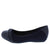 Inside3 Navy Multi Ring Round Toe Ballet Flat