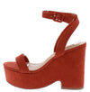 Beauty8 Orange Women's Heel - Wholesale Fashion Shoes