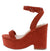 Beauty8 Orange Women's Heel