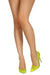Sophie252 Neon Lime Clear Lucite Pointed Toe Stiletto Heel