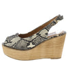 Kite01 Snake Women's Wedge - Wholesale Fashion Shoes