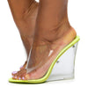 Lemonade Lime Women's Wedge - Wholesale Fashion Shoes