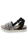Liberty23k Black Kids Sandal - Wholesale Fashion Shoes