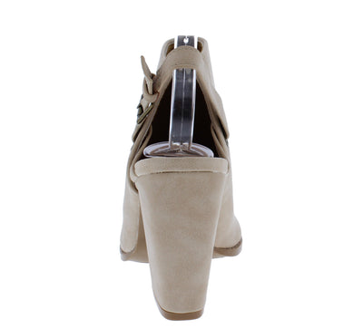 Lost21 Stone Distress Women's Heel - Wholesale Fashion Shoes