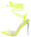 Luniah Neon Crocodile Women's Heel - Wholesale Fashion Shoes