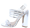 Lyra06 Silver Women's Heel - Wholesale Fashion Shoes