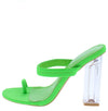 Macaroon Green Women's Heel - Wholesale Fashion Shoes