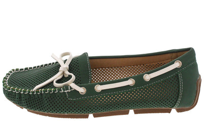 Marseille02 Green Women's Flat - Wholesale Fashion Shoes