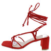 Catherine253 Red Women's Heel - Wholesale Fashion Shoes