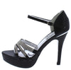 Emily109 Black Women's Heel - Wholesale Fashion Shoes