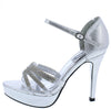 Emily109 Silver Women's Heel - Wholesale Fashion Shoes