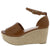 Prema01 Tan Women's Wedge