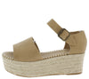 Purchase04 Natural Women's Wedge - Wholesale Fashion Shoes