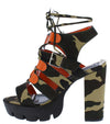 Quinn Camo Women's Heel - Wholesale Fashion Shoes