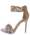 Saloman Taupe Woman's Heel - Wholesale Fashion Shoes