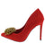 Frances292 Red Women's Heel