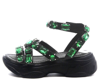 Statement Black Women's Sandal - Wholesale Fashion Shoes