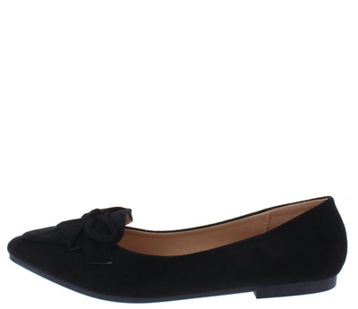Stella01 Black Women's Flat - Wholesale Fashion Shoes