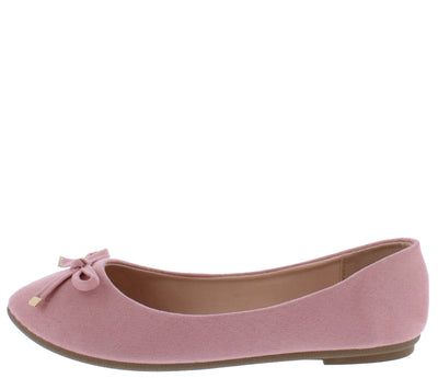 Supple24 Dusty Pink Women's Flat - Wholesale Fashion Shoes