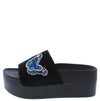 Thistle Black Women's Wedge - Wholesale Fashion Shoes