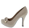 Trench389x Light Taupe Women's Heel - Wholesale Fashion Shoes