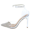 Patricia120 Silver Women's Heel - Wholesale Fashion Shoes
