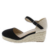 Wishing5k Black Kids Wedge - Wholesale Fashion Shoes