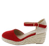 Wishing5k Red Kids Wedge - Wholesale Fashion Shoes