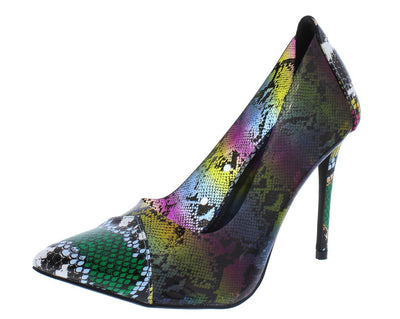 Woolf Multi Women's Heel - Wholesale Fashion Shoes