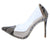 Woolf Reflection Pointed Toe Lucite Stiletto Pump Heel