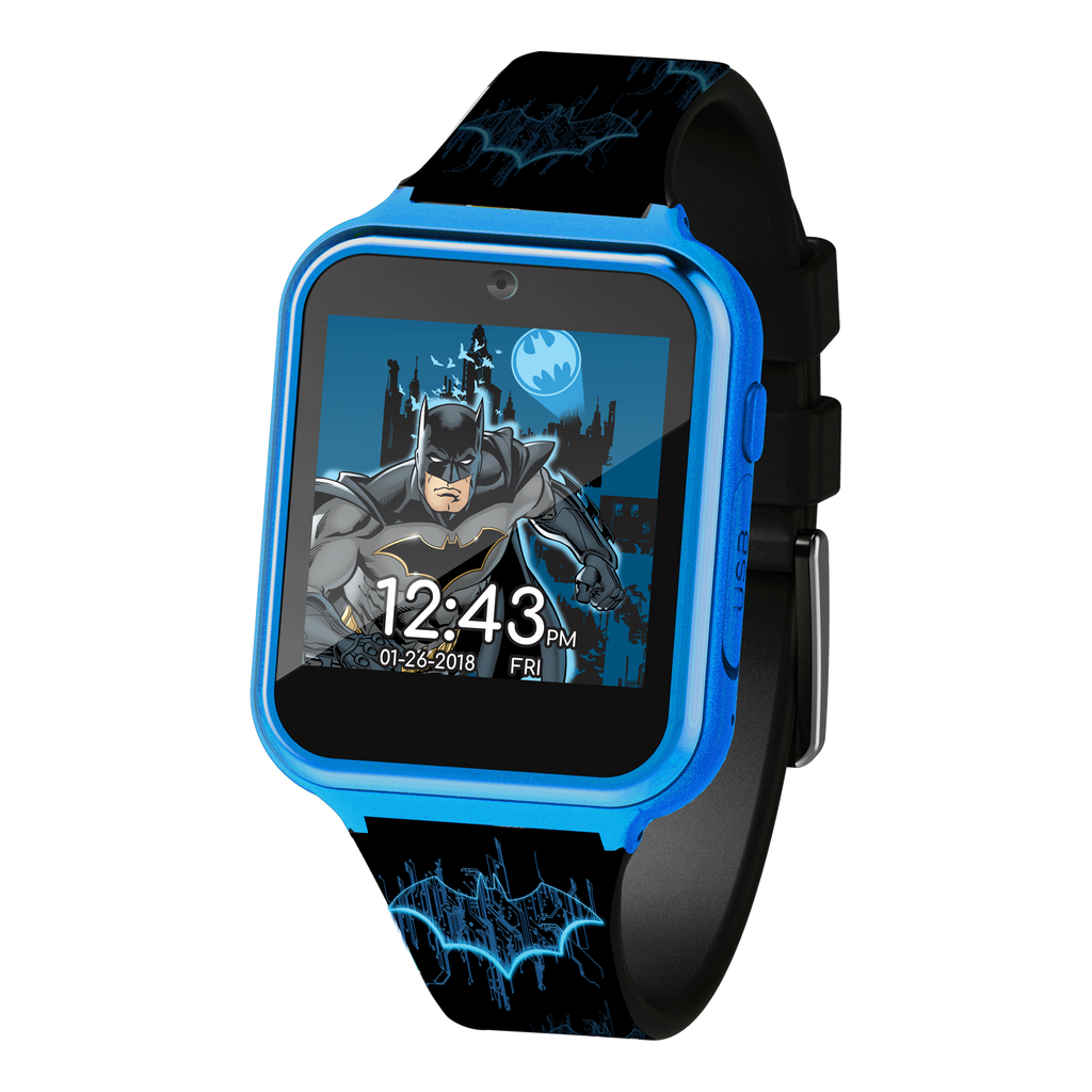 Official Batman Logo Kid's Touch-Screen Smart Watch - BAT4732