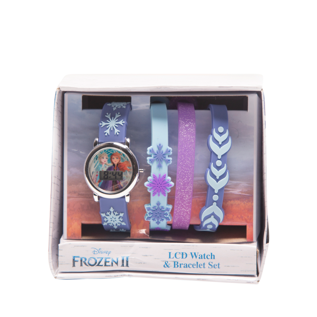 Frozen 2 LCD Watch & Bracelet Set- FZN45041BU