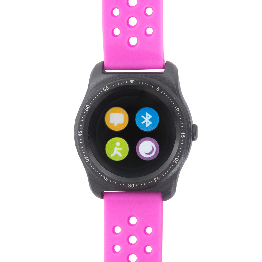 Bebe Smartwatch - Black Case/Pink Band - BEB8033
