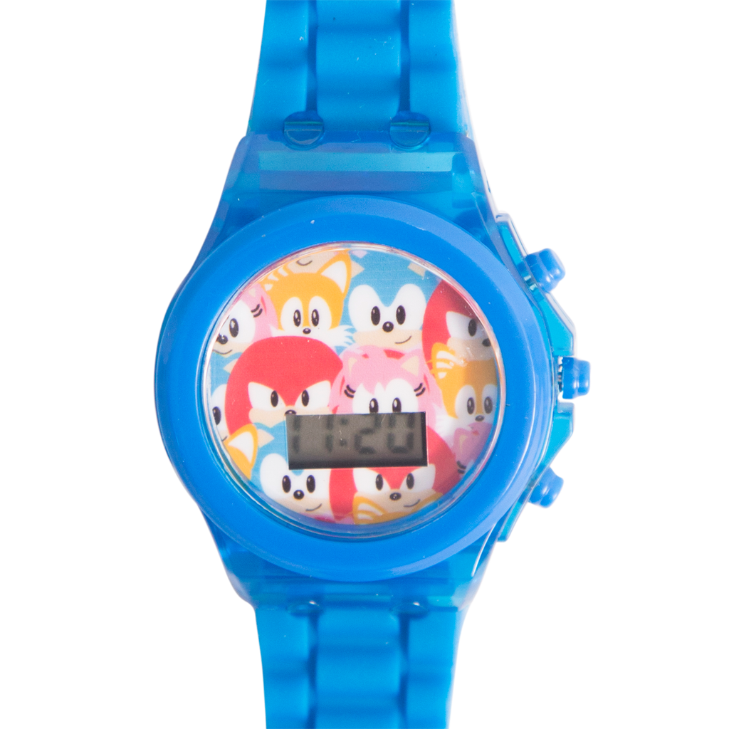 Sonic the Hedgehog Light Up Watch (Blue) - SNC4006