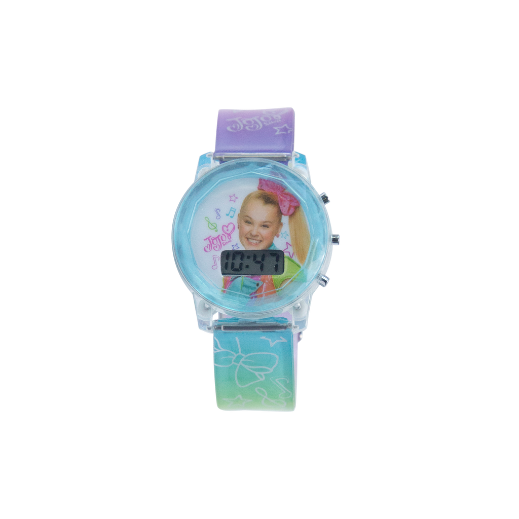 JoJo Siwa Light Up Watch with Multicolor Strap - JOJ4206