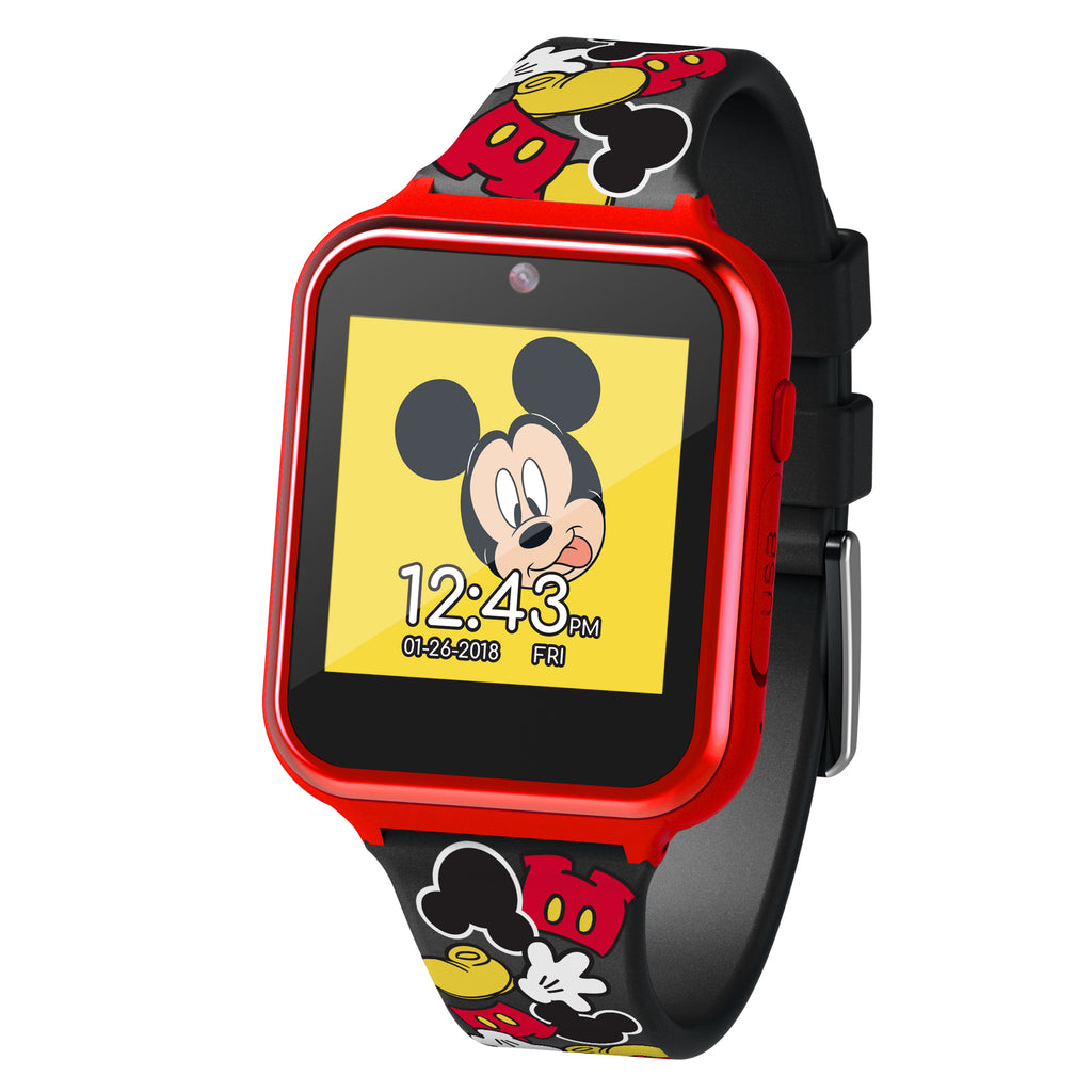 Official Mickey Mouse Kid's Touch-Screen Smart Watch - MK4089