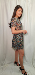 Flower Dress mini Dress